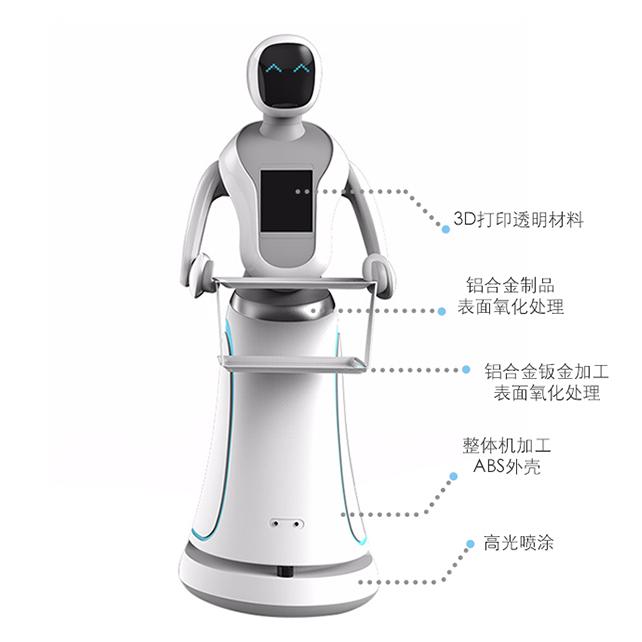 Intelligent dinner robot shell production solution